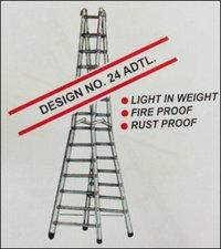 Aluminium Double Step Trestle Ladder (Design No. 24 ADTL)