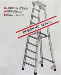 Aluminium Folding Factory Ladder (Design No. 52 AFFL)