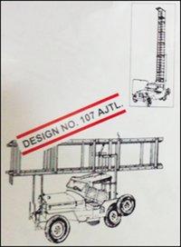 Aluminium Jeep Tower Ladder (Design No. 107 AJTL)