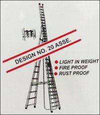 Aluminium Self Supporting Extension Ladder (Design No. 20 ASSE)