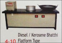 Diesel And Kerosene Bhatthi Platform Type