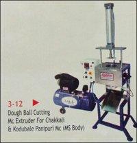 Dough Ball Cutting Machine Extruder For Chakli