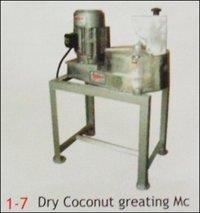 Dry Coconut Grating Machine