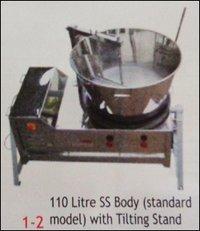 Milk Khova (Mava) Machine with 110 Litre Vessel