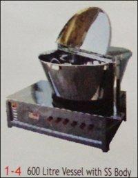Milk Khova (Mava) Machine with 600 Litre Vessel