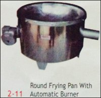 Round Frying Pan With Automatic Burner