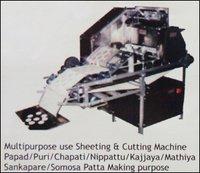 Sheeting and Cutting Machine (Papad / Puri / Chapati)