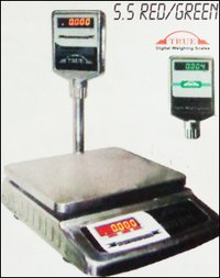 Stainless Steel Red / Green Weighting Machine