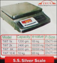 Stainless Steel Silver Scale