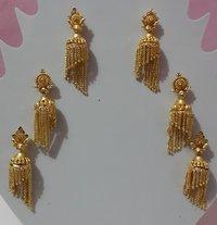 Handmade Golplated Earring
