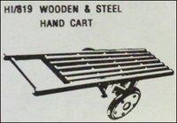 Wooden and Steel Hand Cart (HI/819)