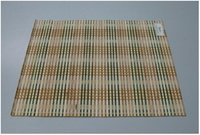 Handmade Rectangular Bamboo Placemat (Vdg12)