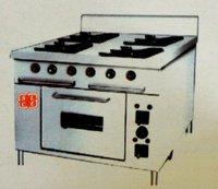 Kitchen Four Burner Range With Oven