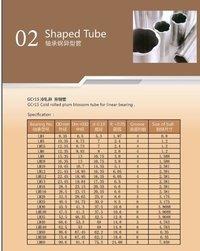 Shaped Tubes