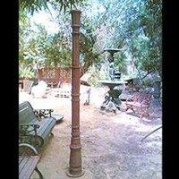 Wooden Garden Pole