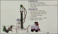 Pneumatic Portable Drilling Rig