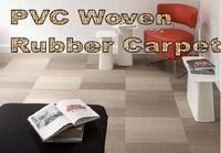Pvc Woven Rubber Carpet