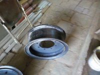 Trailer Wheel Plates