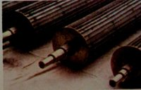 Stainless Steel Fluted Rollers