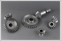 Spiral And Straight Bevel Tractor Gear