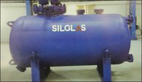 Mild Steel Glasslined Storage Tanks (Horizontal)
