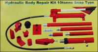 Hydraulic Automobile Body Repair Kit 10 tonne Snap Type