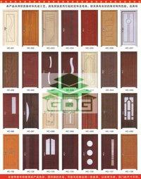 Pvc Coated Wooden Doors in Tianjin