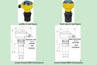 Open Chanel Ultrasonic Level Indicator Transmitter