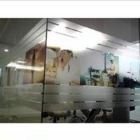 Transparent Tempered Safety Glass
