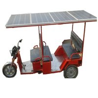 Solar Battery Rickshaws (Item Code: SBR-003)