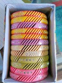 Multicolour Plastic Bangles