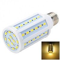 Marsing E27 12W 1200lm 3500K 60-SMD 5730 LED Warm White Corn Lamp