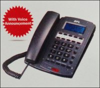Caller Id Phones With Phone Book (Bpl 9018)