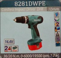 Cordless Impact Driver Drills (8282DWPE)