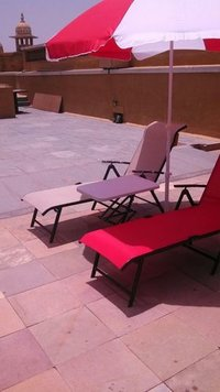 Pool Lounge Chair With Umbrella