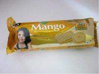 Mango Cream Biscuit