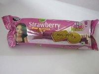Strawberry Cream Biscuit