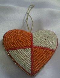 Heart Shape Christmas Ornament