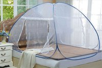 Double Bed Folding Blue Mosquito Net