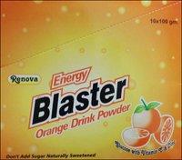 Energy Blaster Orange Drink Powder