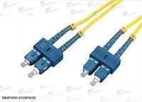 Telemax Sc/Pc-Sc/Pc Single Mode Duplex 1m Optical Fiber Patch Cord