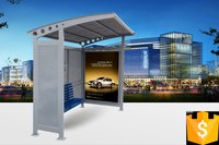 Prefabricated Metal Bus Shelter