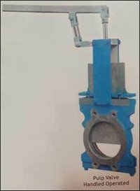 Pulp Valve Handheld Operated