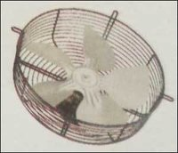 Shaded Pole Motor With Basket Grill