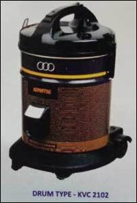 Stainless Steel Wet and Dry Vacuum Cleaners (Drum Type)