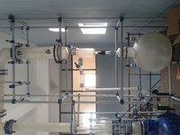 Durable Reaction Distillation Unit