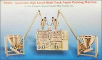 Automatic High Speed Multi Track Pouch Packing Machine