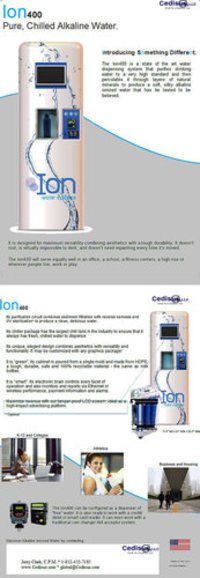 Ion400 Water Dispensing System