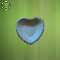 Arecanut Leaf Disposable Heart Shape Plate