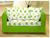 Green Print Sofa Cover